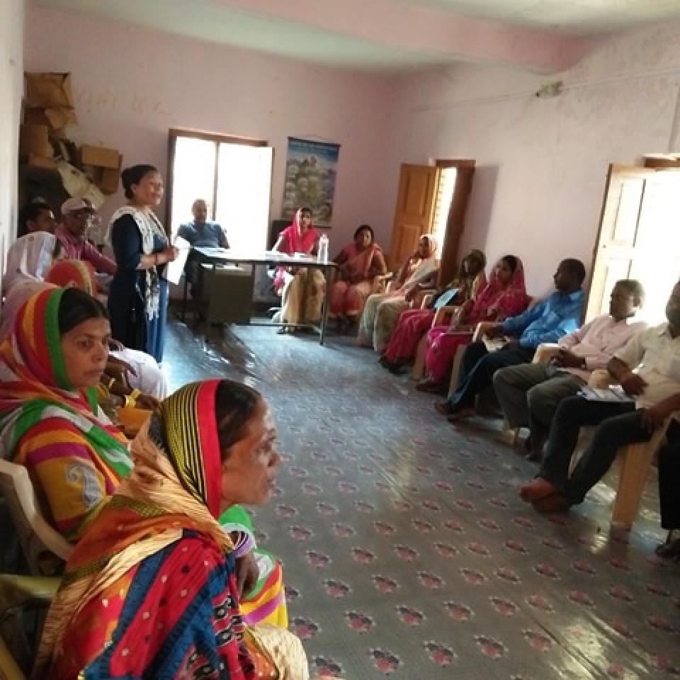 Preparation Meeting in Godaita Municipality, Sarlahi