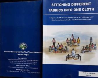 Stitching different fabrics into one cloth
