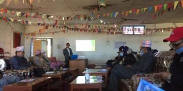 NRCTP VI orientation program in Achham District