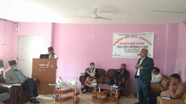 NRCTP-VI orientation program in Sarlahi District