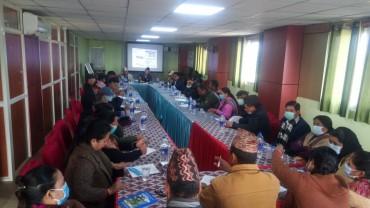 NRCTP-VI orientation program in Kanchanpur District