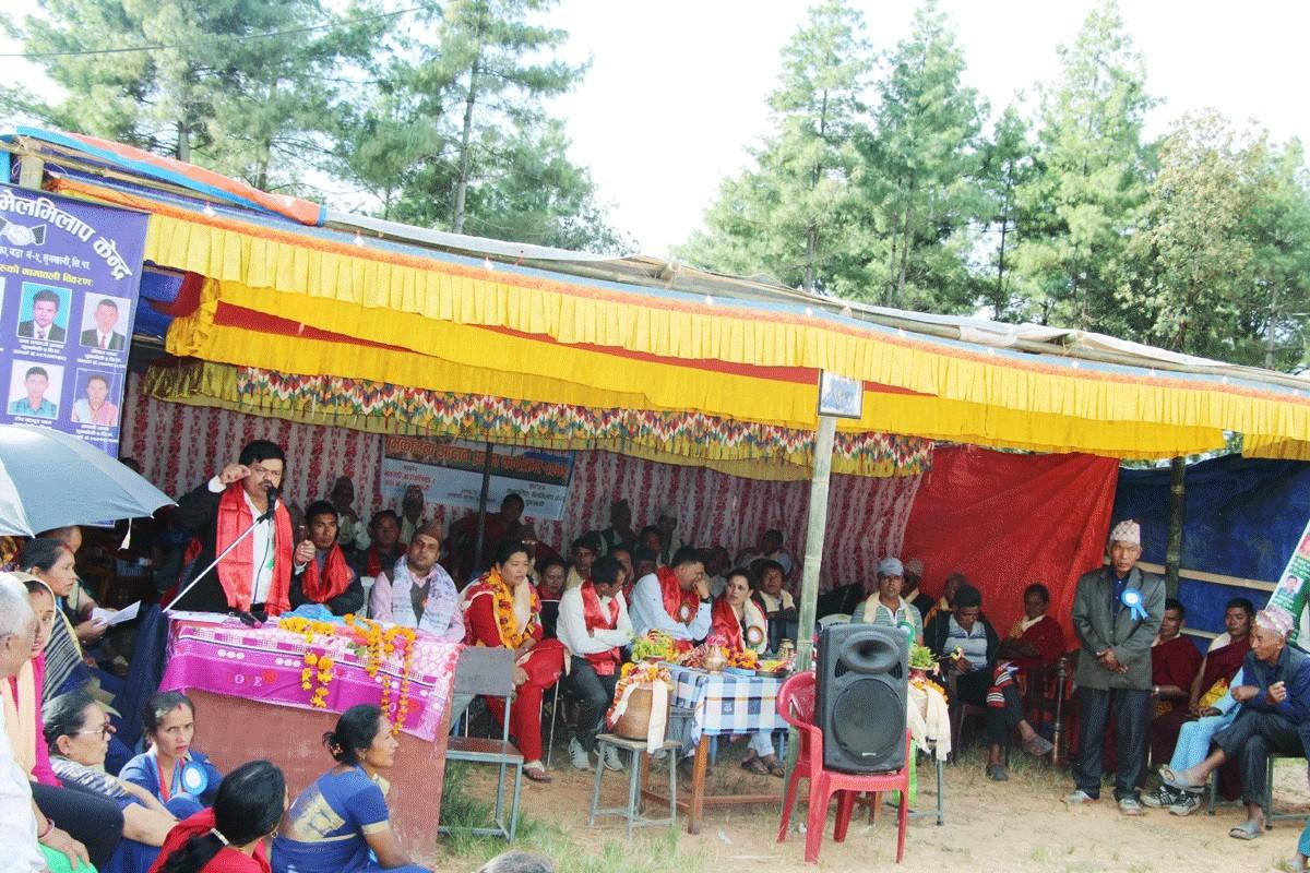 ED of NRCTC-N, Chup Bahadur Thapa, Sunkhani, Sindhupalchowk